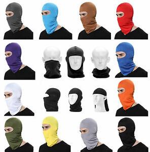 Full Face Mask Ski Balaclava Sun Shield Lycra Outdoor Cycling Tactical Hat Mens