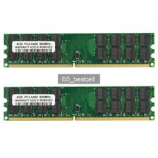 NEW 8GB 2X4GB DDR2-800MHz PC2-6400 240PIN PC6400 Fit AMD Motherboard memory RAM