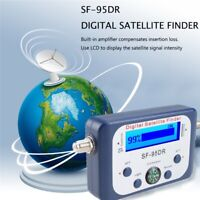 HDTV Digital Satellite Signal Strength Finder Meter Dish SAT LCD Display Compass