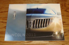 Original 2011 Lincoln Full Line Sales Brochure 11 Navigator MKX MKZ MKS MKT