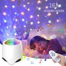 LED Sternenhimmel Projektor Nachtlicht Lampe Leuchte Bluetooth Lautsprecher Box