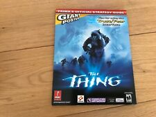 THE THING PRIMA OFFICIAL STRATEGY GUIDE BOOK UK SELLER