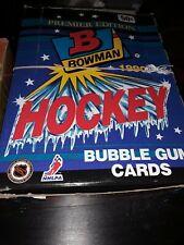 1990 Bowman Bubble Gum Hockey - 1 Wax Pack Gretzky Look 4 Error Cards