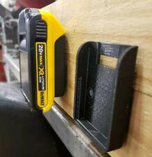 **2 Pack** Dewalt/Mac Tools 20V Wall/Under Shelf Locking Battery Holder Mount