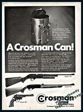1977 Crosman Model 760 and 766 Rifle 38T Revolver Bb Pellet Gun Photo Ad