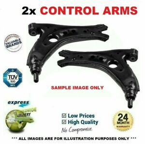 2x Front CONTROL ARMS for PEUGEOT 407 SW 2.0HDi 135 2004-2010