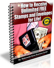 NEW! How To Receive Unlimited Free Stamps And Envelopes For Life PDF EBOOK