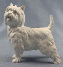 westie west highland terrier Kaiser Figur porzellan Hund porzellanfigur