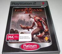 God of War II PS2 (Platinum) PAL *Complete*