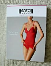 Wolford Tulle Lace Forming Top Shape & Control Light Lipstick 40 (uk 12)
