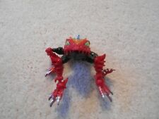 Transformers Beast Wars Spittor Complete Frog Figure Rare Red Variant