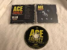 ACE FREHLEY TROUBLE WALKIN MEGAFORCE RECORDS CD RARE HAIR METAL KISS GENE PAUL