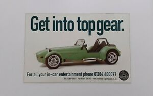 Westfield Sports Cars Advert from 2000 - Original