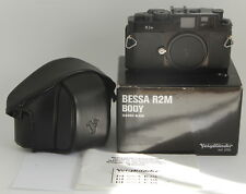 Voigtlander Bessa R2M LEICA M MOUNT 35mm Rangefinder Film Camera CHECKED W.FILM!