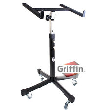 Mobile Studio Mixer Stand on Wheels - Portable Cart Recording Mount Gear PA DJ