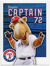 2014 Texas Rangers Team Issued Postcard Rangers Captain SGA