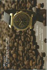 CORNETTE WATCHES Boucheron Cartier Dior Fred LeCoultre Patek Omega Rolex Catalog