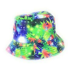 Ganja universe design  bucket sun hat  festival outdoor trending hats