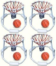 4) Swimline 9162 Swimming Pool Quality Floating Super Hoops Fun Basketball Games