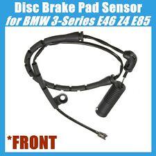 FRONT Disc Brake Pad Sensor For BMW E46 E85 320i 323Ci 323i 325Ci 325i 328i Z4