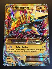 Carte Pokemon M ELECSPRINT 120/119 Ultra Rare Mega EX Secrète XY4 Française NEUF