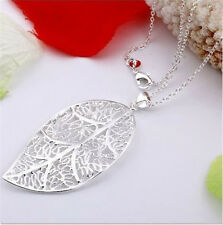 Special Price wholesale jewelry Silver Chain Necklace+gift box