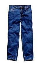 "Dickies Stonewashed Work Jeans Waist: 30""-44"" Inside Leg: 30"", 32"", 34"""
