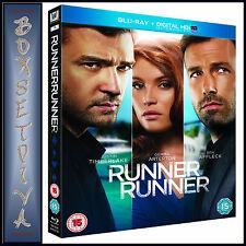 RUNNER RUNNER - Ben Affleck & Justin Timber   ***BRAND NEW  BLU-RAY ***