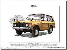 RANGE ROVER - The Original - Fine Art Print - A4 size
