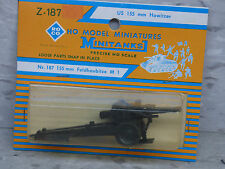 Roco / Herpa Minitanks (NEW) WWII & Modern US M1 155mm Field Howitzer  Lot 232K