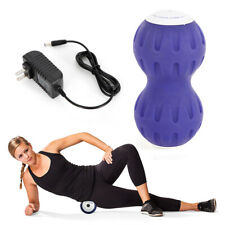 Yoga Ball Fitness Peanut Shaped Electric Vibrate Massager Ball Gym Exercise USA