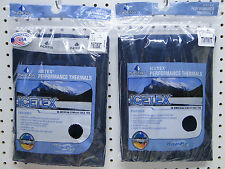 New Men's ICEtex Fleece Thermal Underwear Set Navy XL