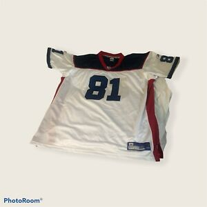 Vtg STICHED Reebok NFL Buffalo Bills Terrell Owens #81 Jersey Size 60 5X