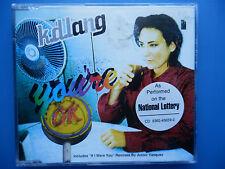 K.D Lang You'r O.K 4 track CD single