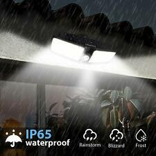 Outdoor Solar Power Motion Sensor Lights Garden Flood 80 LED PIR Security Lamp