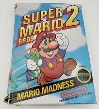Super Mario Bros. 2 BOX ONLY ORIGINAL AUTHENTIC Nintendo NES