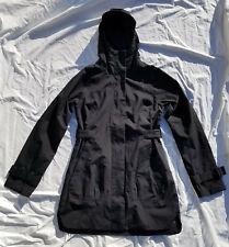 The North Face CITY BREEZE RAIN TRENCH Coat Black Women's Size XS NWOT