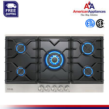Gasland Chef GH90BF Built-in Gas Stove Top with 5 Sealed Burners, LPG/NG