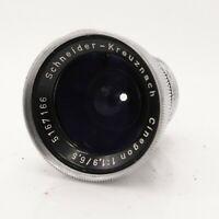 Schneider Kreuznach Cinegon 6.5 / f/1.9 Lens - D-Mount - Fully Working #LS-2188