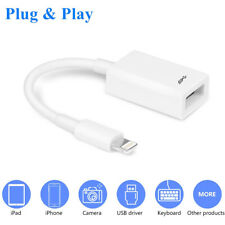 6 Inch Lightning to USB OTG Extension Cable Support iOS 12 13 Before and After