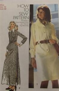 Original Vintage 1972 Dressmaking Pattern- Simplicity 5151 size 16