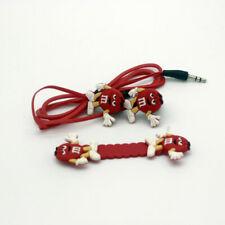 M & Ms Chocolate novelty earphones 3.5MM in-ear headphones. UK SELLER