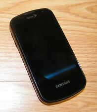 *FOR PARTS* Samsung Galaxy S Epic SPH-D700 - Black (Sprint) CDMA Smartphone Only