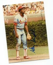 Autographed Photo of Cardinals Gary Templeton