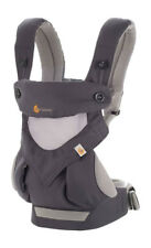ERGO Ergobaby 360 Four Position Cool Air Mesh Breathable Carrier Carbon Grey NEW