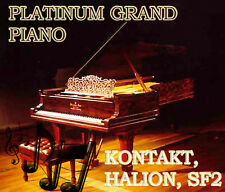 Steinway Grand Piano Samples CD - Kontakt, Halion, SF2, Reason. 100% Real Piano
