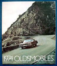 Prospekt brochure 1974 Oldsmobile Toronado * Ninety-Eight (USA) PRESTIGE