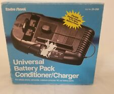 Radio Shack model 23-250 Universal Battery pack Conditioner Charger NOS