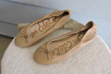 8d66eeb13e789 Women s Sam Edelman Felicia Ballet Flats Nude Leather Size 9.5
