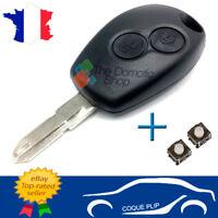 Coque Télécommande Renault Dacia Sandero Duster Lodgy Logan Clé + 2 switch